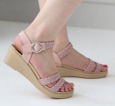 Giày Sandal đế xuồng 5cm