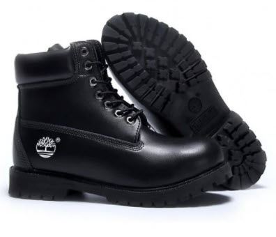 Giày màu đen Timberland