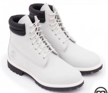 Giày Timberland trắng chính hãng