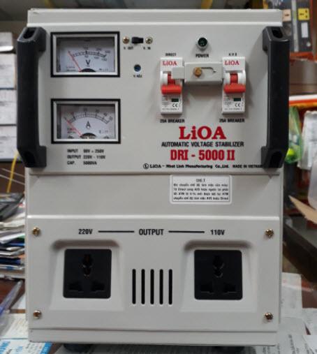 Đánh giá thiết bị Lioa 5KVA DRI-5000II có tốt không?