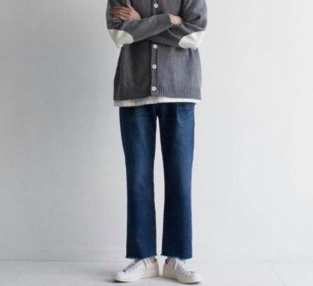 Phối đồ với quần Jean Hàn