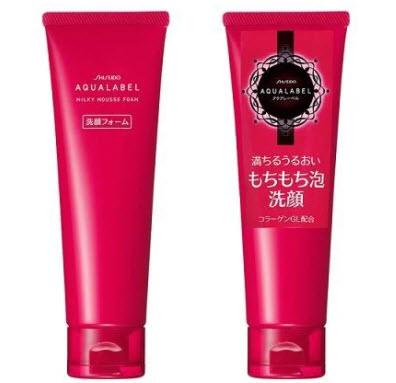 Sữa rửa mặt Shiseido Aqualabel đỏ