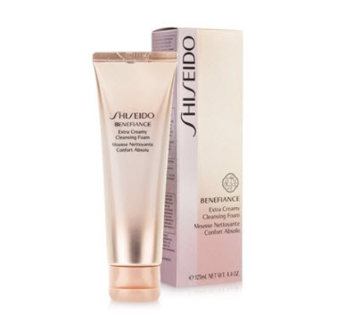 Sữa rửa mặt Shiseido Benefiance Extra Creamy Cleansing Foam
