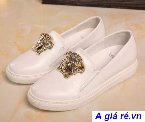 Giày Versace nữ slip on
