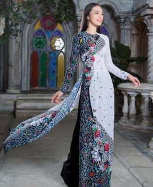 Những mẫu áo dài Thái Tuấn đẹp