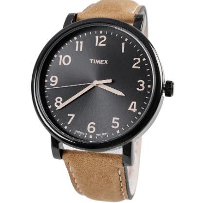 Đồng hồ Timex dây da nam