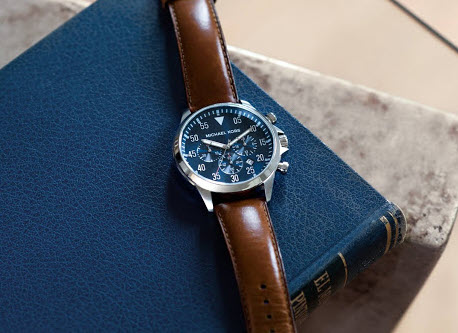 Đồng hồ nam Michael Kors dây da