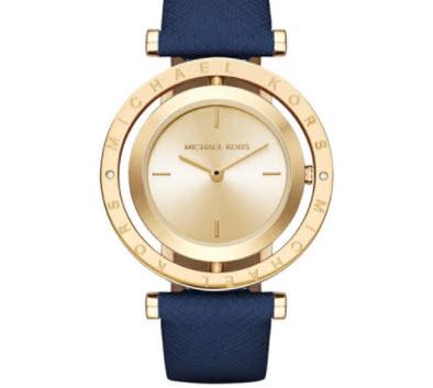 Đồng hồ dây da Michael Kors