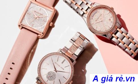 Đồng hồ đính đá Michael Kors nữ