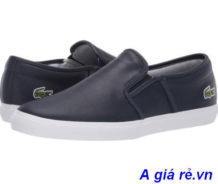 Giày lười Lacoste đen