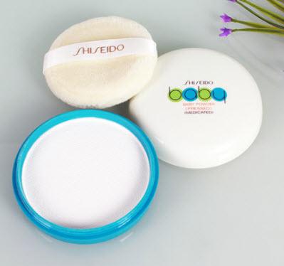 phấn phủ kiềm dầu Shiseido Baby Powder